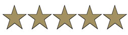 We Have Been Awarded 5 Stars!